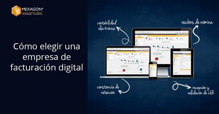 Cómo elegir una empresa de facturación digital