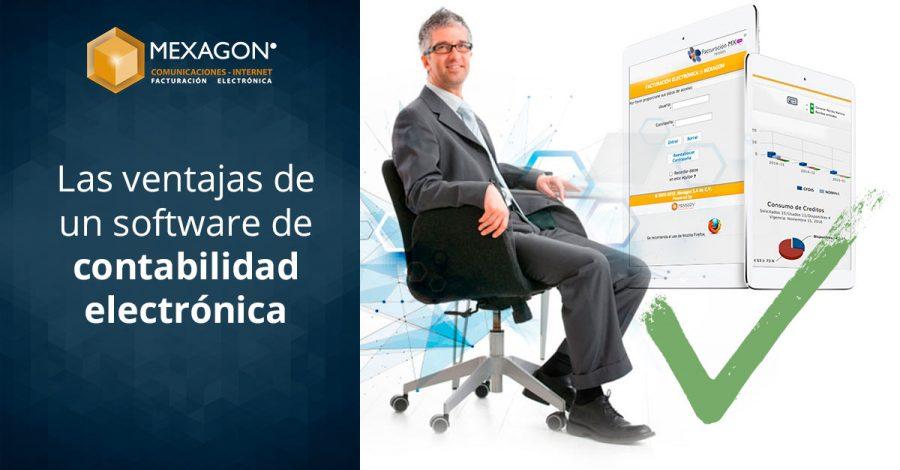 Las ventajas de un software de contabilidad electrónica
